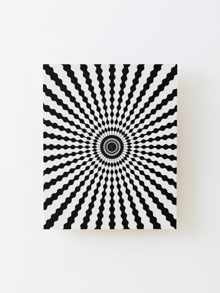 Alternate view of Wake up illusions Mounted Print
