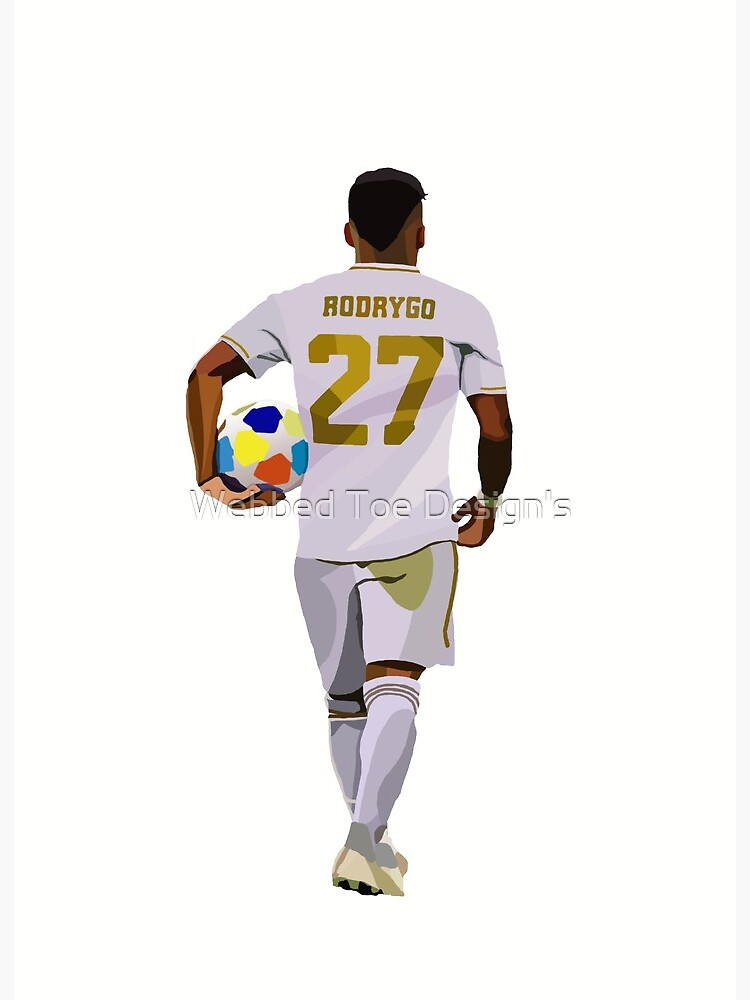 print gifts gift prints Raul poster Real Madrid posters wall art