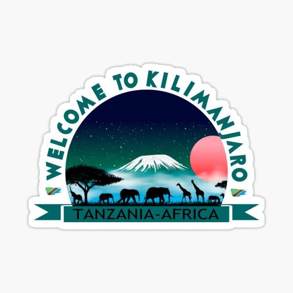 Tanzania-Africa Sticker