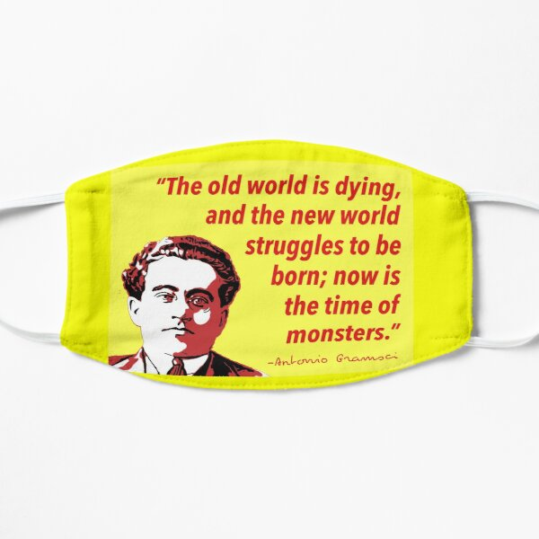 -Antonio Gramsci (1891-1937)  Flat Mask