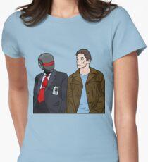 Daft Bunk Women's Fitted T-Shirt