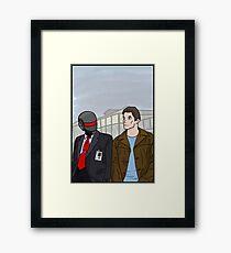 Daft Bunk Framed Print
