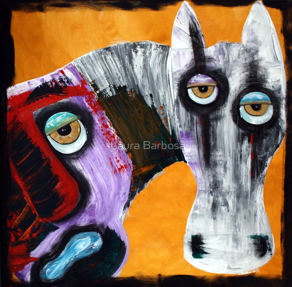 Evil - The White Horse by Laura Barbosa