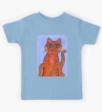 Friendly Cat Kids Tee