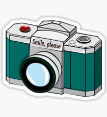 Smile, please! Sticker
