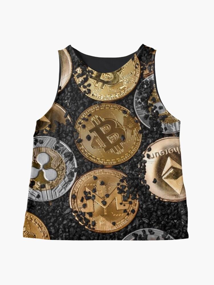 Vista alternativa de Blusa sin mangas Extrayendo el oro del futuro