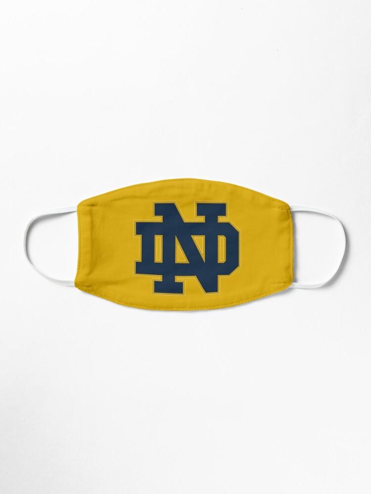 Alternate view of notre dame logo  Mask