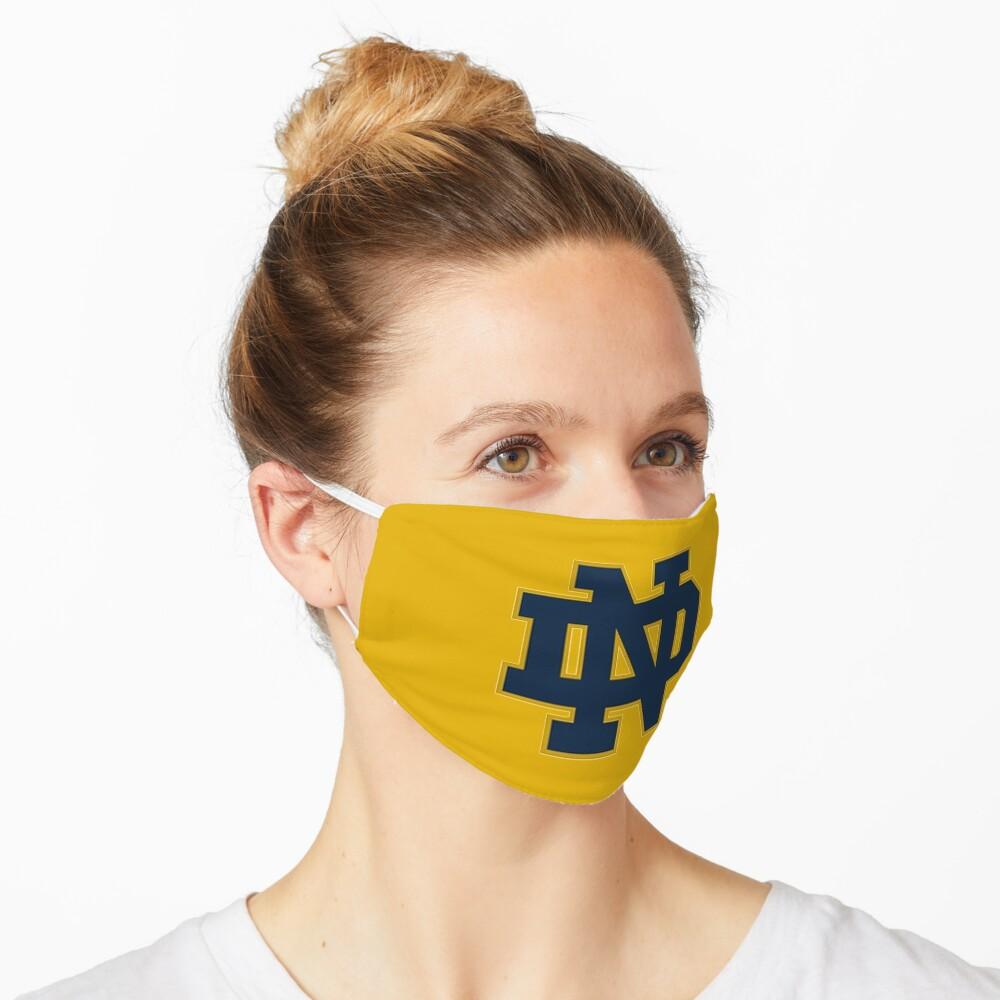 notre dame logo  Mask
