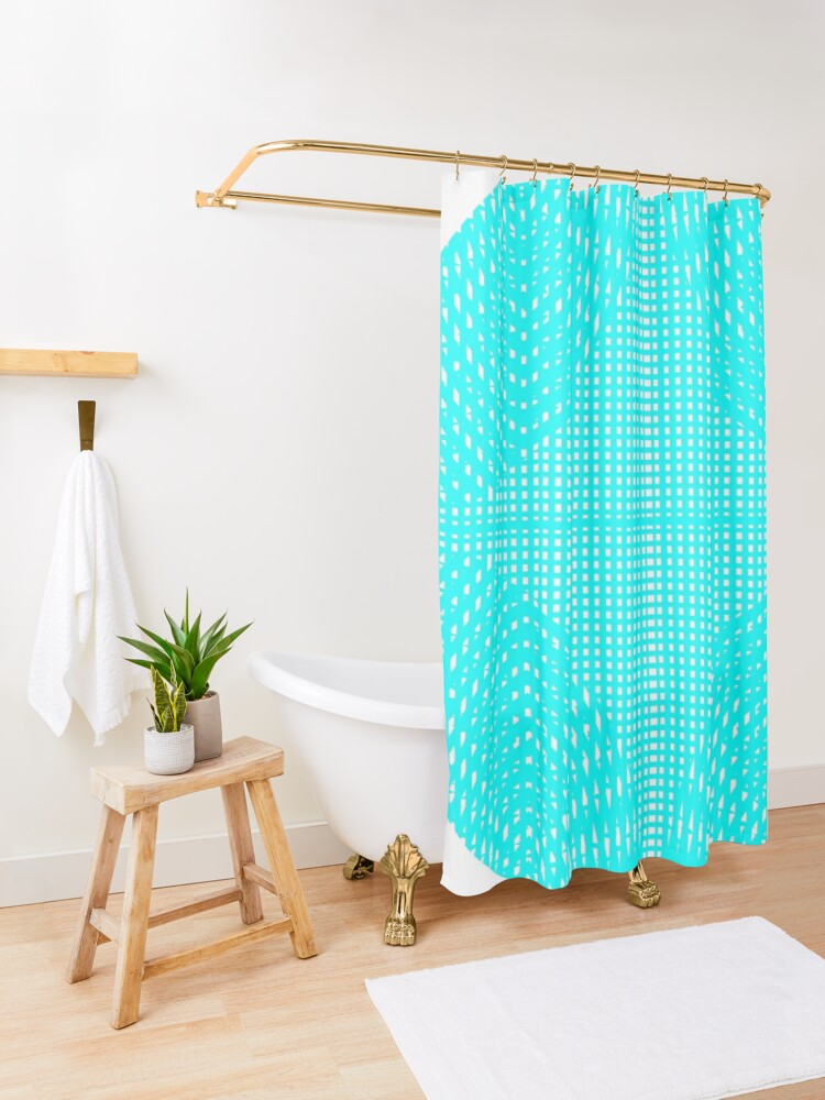 Alternate view of iLLusion Shower Curtain