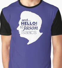 Mark Kermode - and hello to Jason Isaacs  Graphic T-Shirt