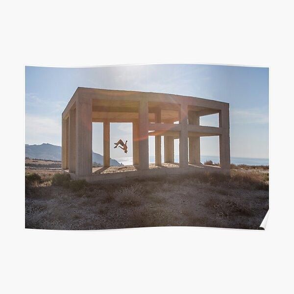 Jason Paul - Santorini, Greece  Poster