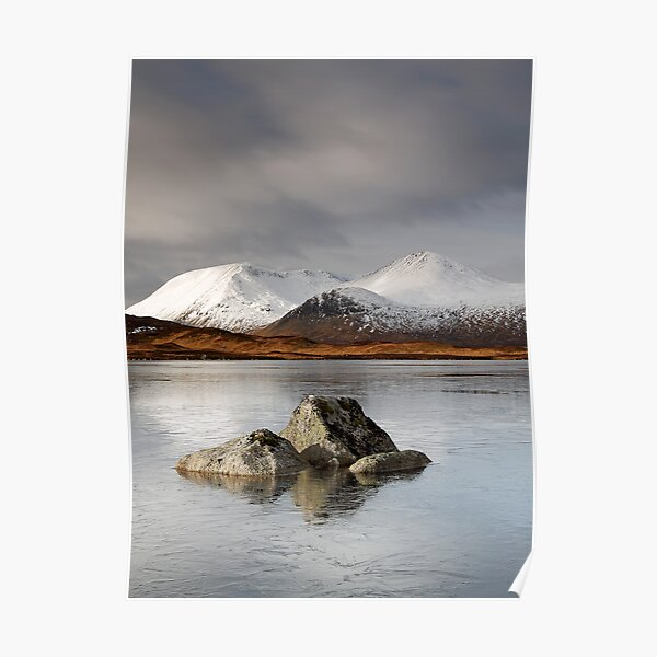 Lochan na h-Achlaise Poster