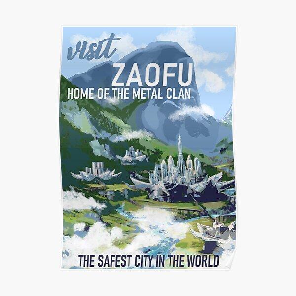 Visit Zaofu Poster
