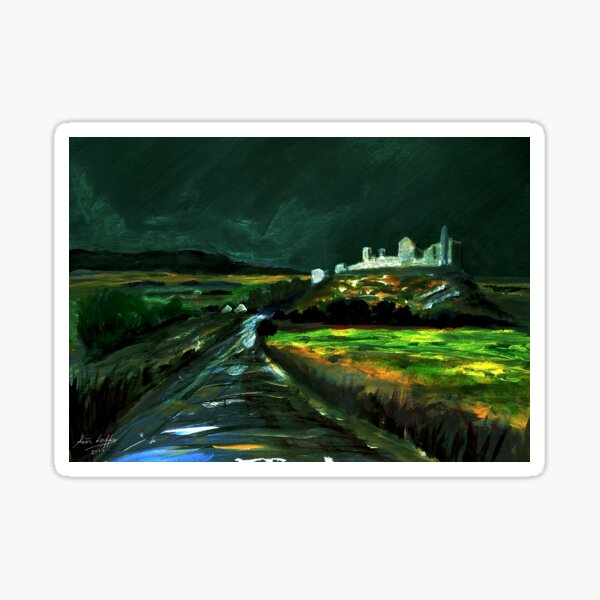 Cashel  The View from Palmers Hill Sticker
