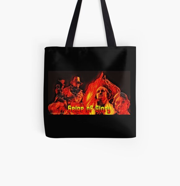 Seige of Glory All Over Print Tote Bag