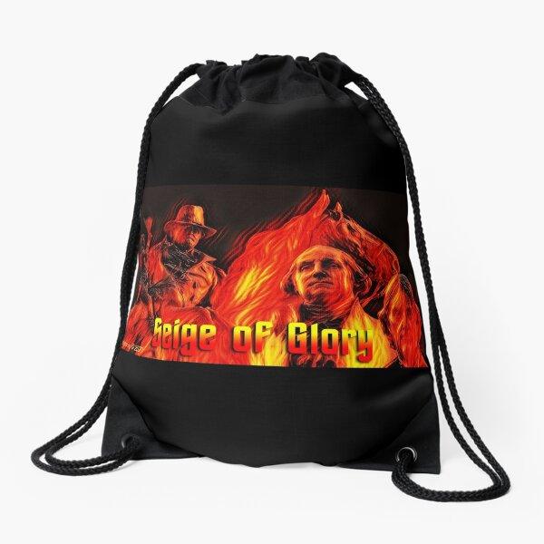 Seige of Glory Drawstring Bag