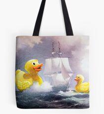 Terror on the High Seas 2 Tote Bag