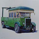 Leyland breakdown Southdown. by Mike Jeffries