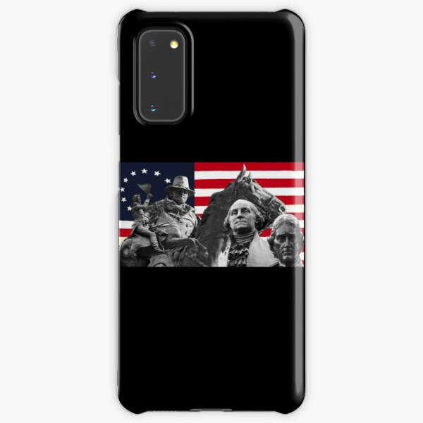 Statues and Flag Samsung Galaxy Snap Case