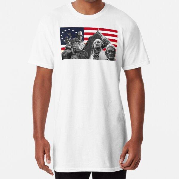 Statues and Flag Long T-Shirt