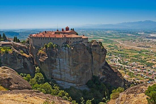 Holy Monastery of St. Stephen, Meteora by Konstantinos Arvanitopoulos
