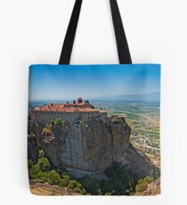 Holy Monastery of St. Stephen, Meteora Tote Bag