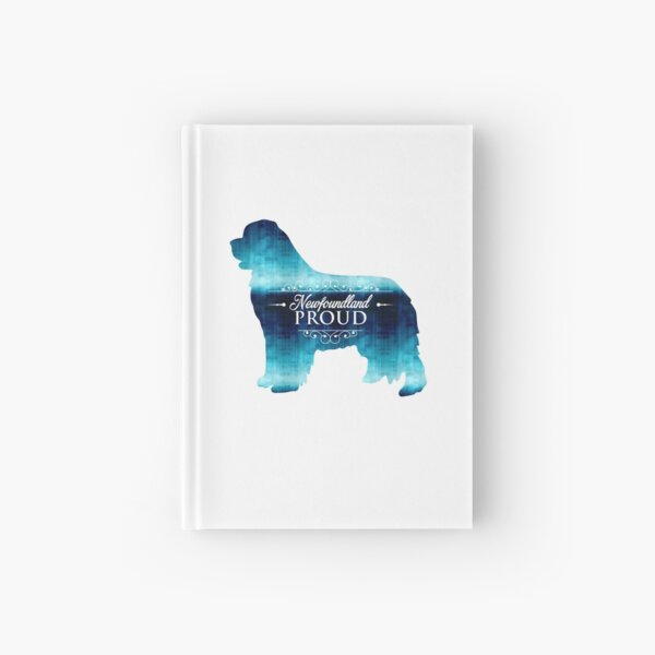 Newfoundland Proud in Blue! Hardcover Journal