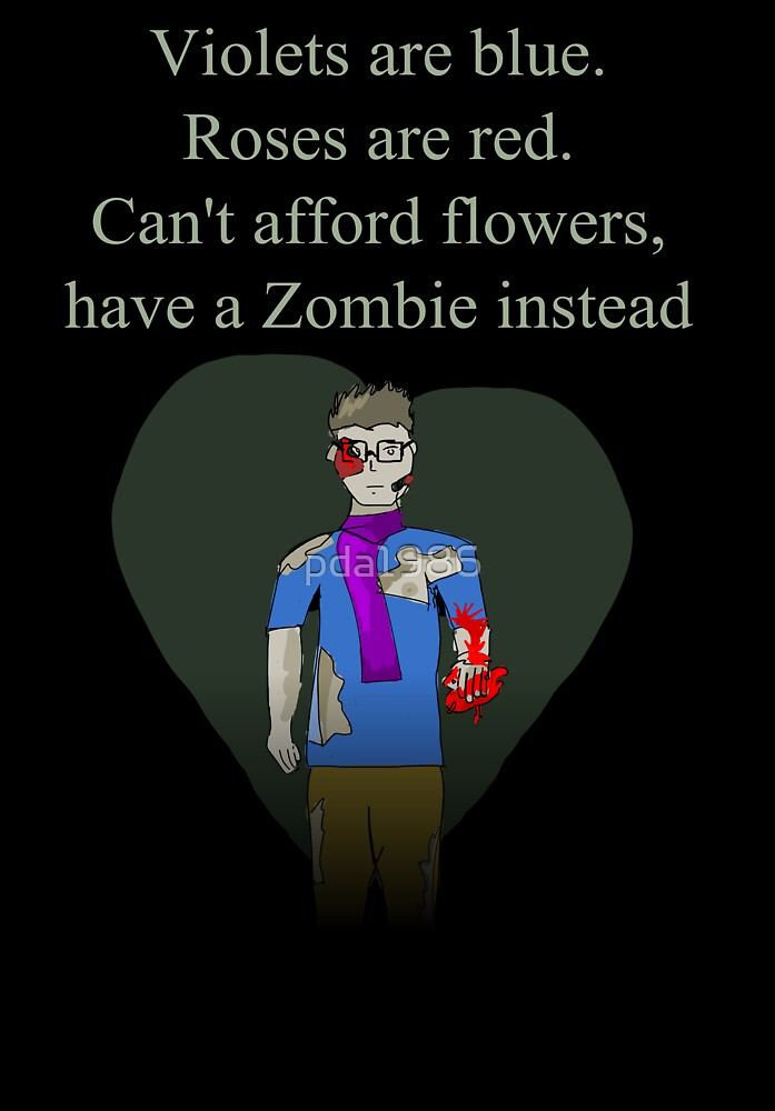 Zombie Love by pda1986