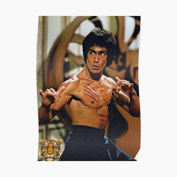 Poster Bruce Lee-Martial Arts-Legend-on Photo Paper//Canvas Canvas
