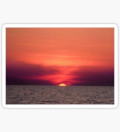 Akyaka - An Astronomical Sunset Sticker