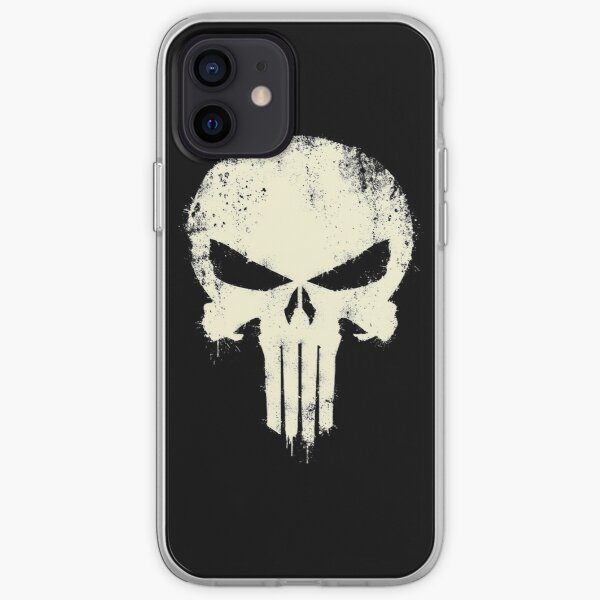 VINTAGE PUNISHER iPhone Flexible Hülle