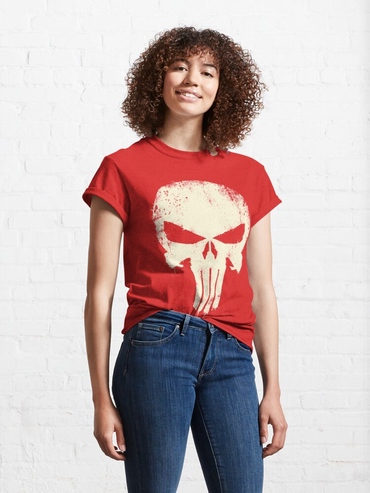 Alternate view of VINTAGE PUNISHER Classic T-Shirt