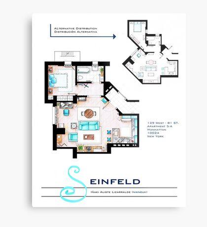 Seinfeld Apartment Metal Print