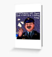 Dennis Frantz at Christmas Greeting Card