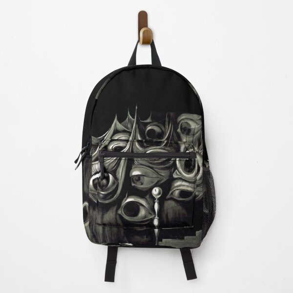 "SURREAL NIGHTMARE EYES Dali""Eyes and Staircase"" Backpack"