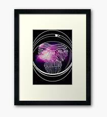 Space Chimp Framed Print