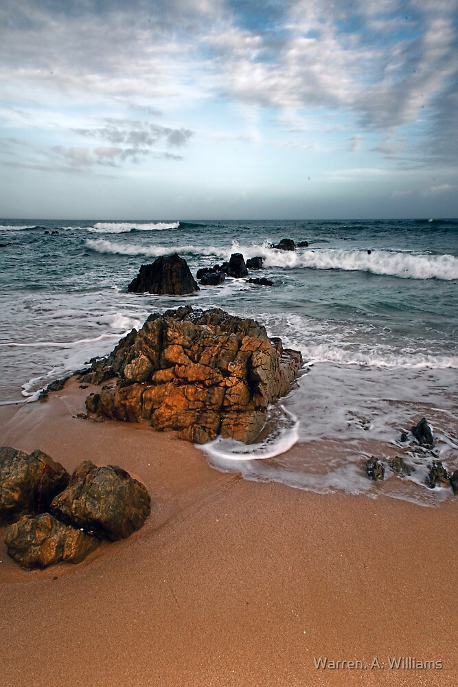 The Inviting Sea. by Warren. A. Williams
