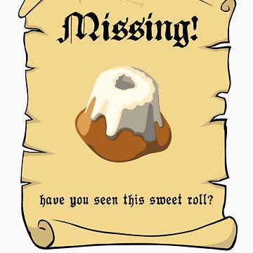 Where is my sweet roll? by ueli