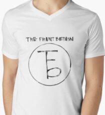 The Front Bottoms - Logo & Name Men's V-Neck T-Shirt