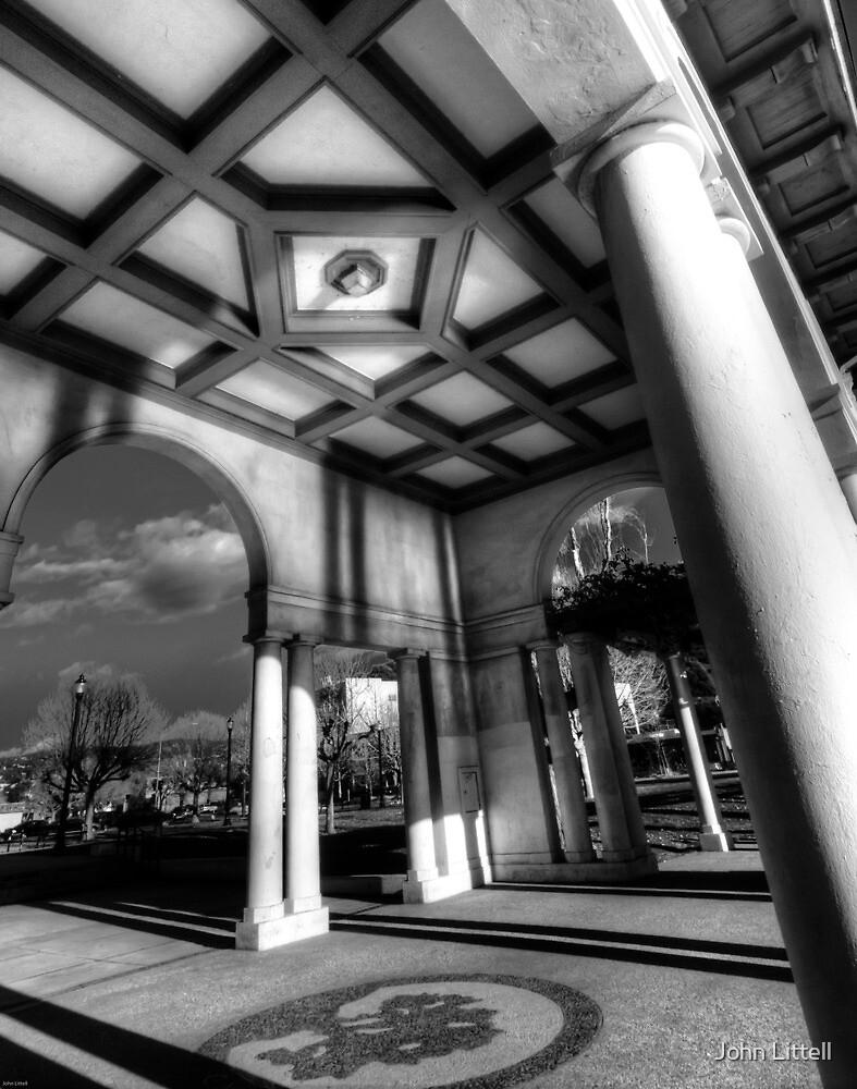 Lakeshore Pavilion, Oakland, California by John Littell