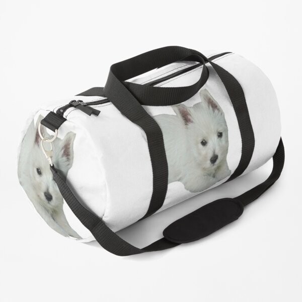 West Highland White Terrier Puppy 2 Duffle Bag