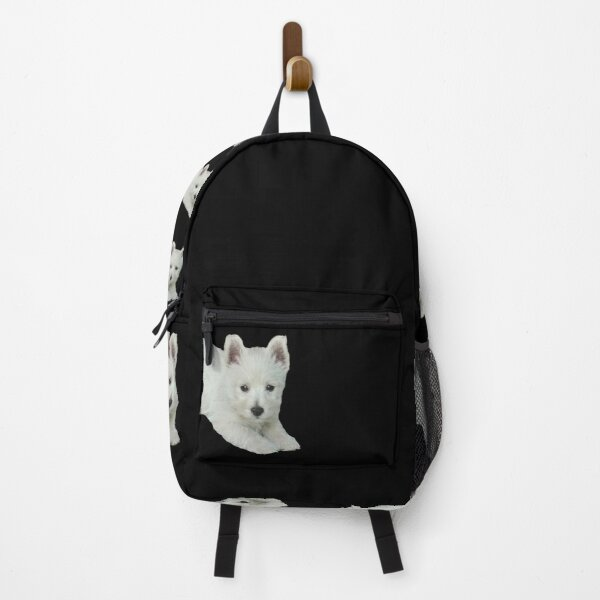 West Highland White Terrier Puppy 3 Backpack