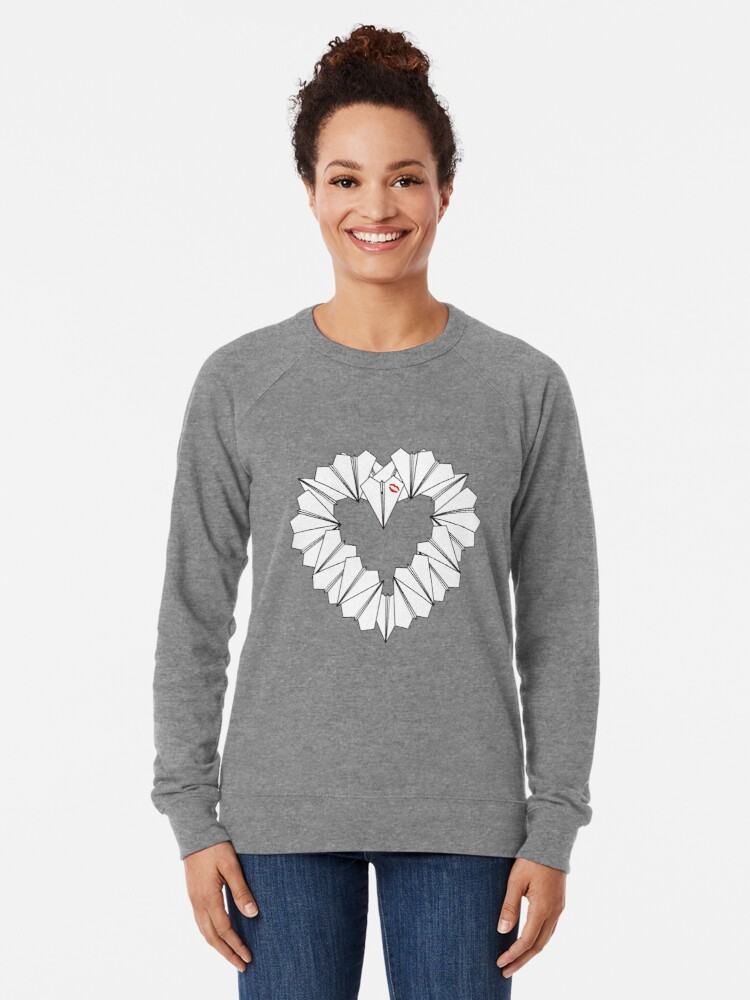 Alternate view of Paperman Heart Lightweight Sweatshirt