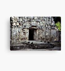 Maya Ruin at Chicana Canvas Print