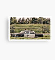 Classic Cruiser Canvas Print