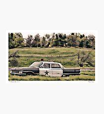 Classic Cruiser Photographic Print