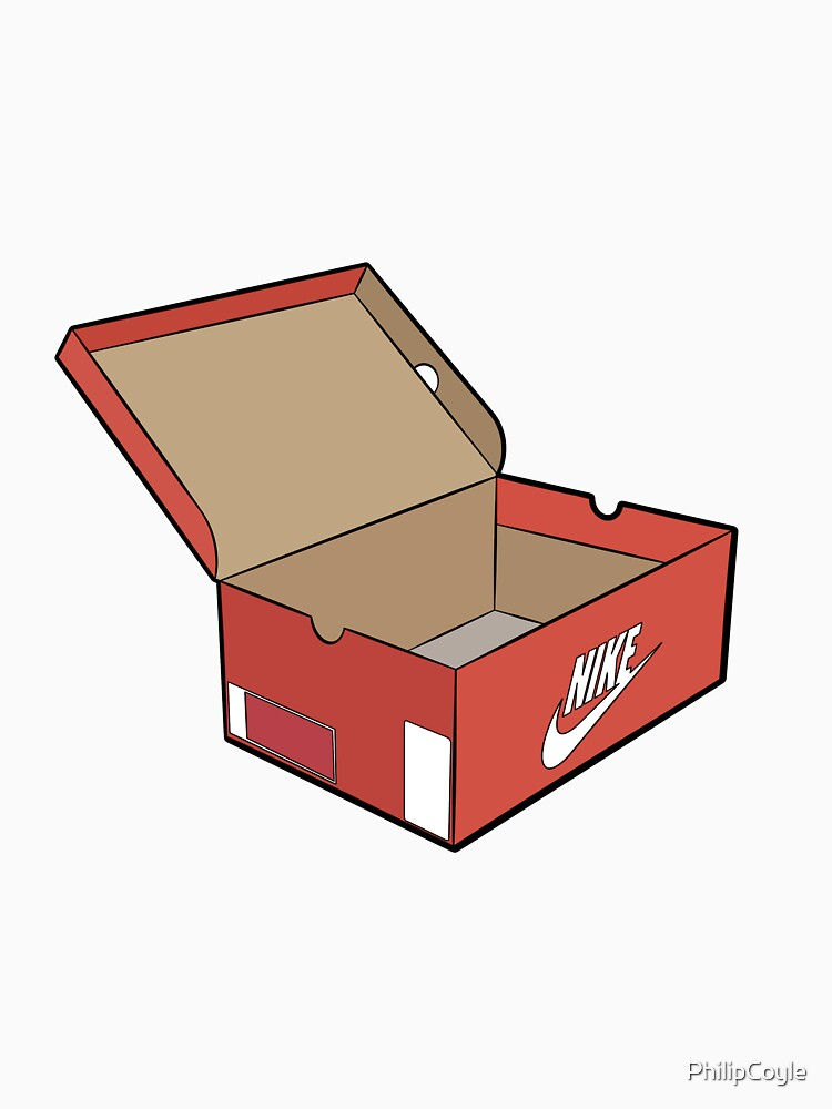 Orange shoe box logo by PhilipCoyle