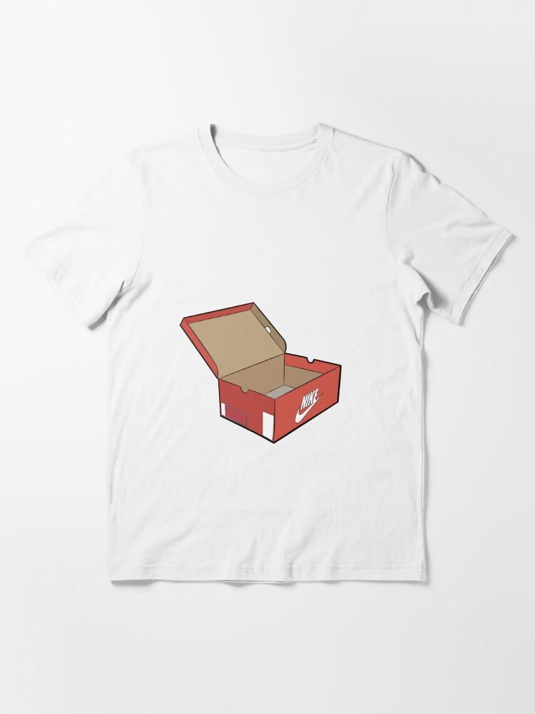 Alternate view of Orange shoe box logo Essential T-Shirt
