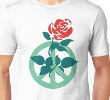 Labour Rose Peace Unisex T-Shirt