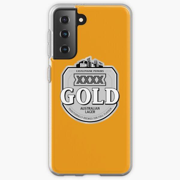 XXXX Gold Grey Samsung Galaxy Soft Case